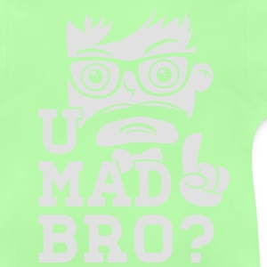 Like a cool you mad story bro moustache Skjorter - Baby-T-skjorte