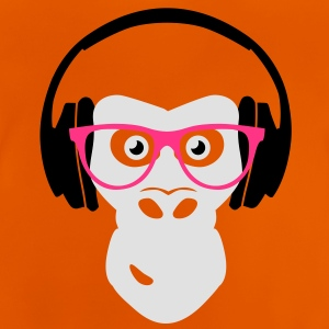gorilla with headphones Shirts - Baby T-shirt