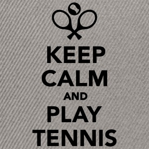 Keep calm and play Tennis T-Shirts - Snapback Cap