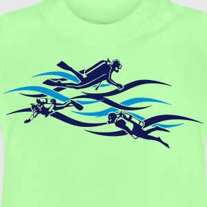 taucher - diver T-shirts - Baby-T-shirt