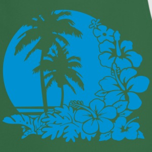 palm sunset ocean T-shirts - Förkläde