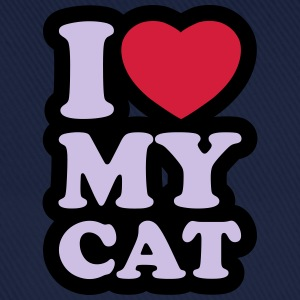 I love my cat - Gorra béisbol