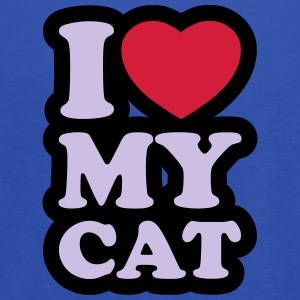 I love my cat - Dame tanktop fra Bella