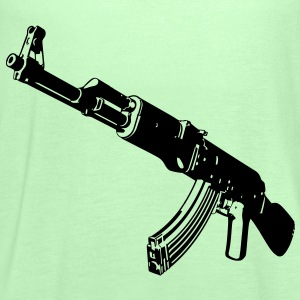 Machine gun T-Shirts - Women's Tank Top by Bella
