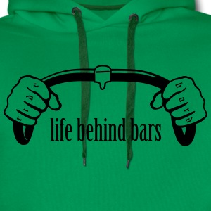 Bicycle Handle Bars - Men's Premium Hoodie