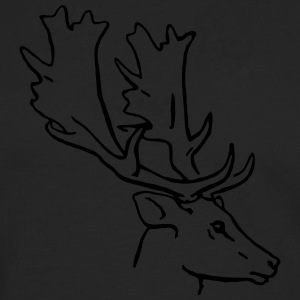 Fallow deer 1 color T-Shirts - Men's Premium Longsleeve Shirt