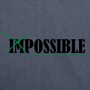 Impossible Tee shirts - Sac bandoulière 100 % recyclé