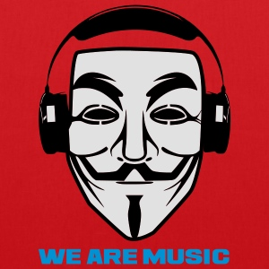 ANONYMOUS WE ARE MUSIC - Tote Bag