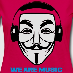 ANONYMOUS WE ARE MUSIC - T-shirt manches longues Premium Femme