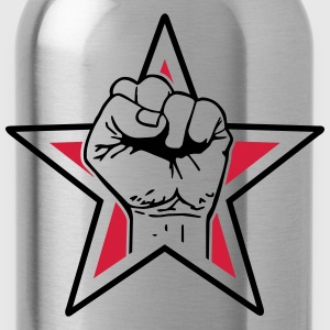 star fist T-Shirts - Water Bottle