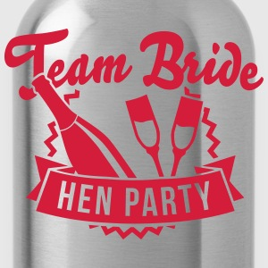 Team Bride - Hen Party T-shirts - Vattenflaska