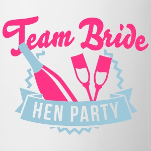 Weiß Team Bride - Hen Party T-Shirts T-Shirts - Tasse