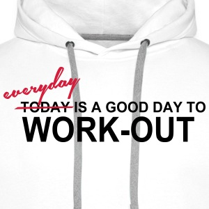 Everyday is a good day T-shirts - Mannen Premium hoodie
