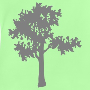 Groen Baum / tree (1c) Kinder sweaters - Baby T-shirt