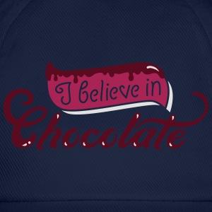 i believe in chocolate - schokolade - Muffin - 3C T-Shirts - Baseballkappe