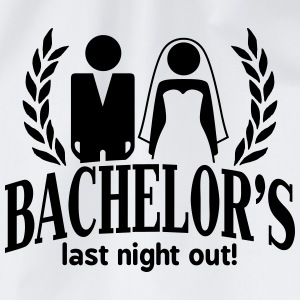 bachelor's last night out T-Shirts - Drawstring Bag