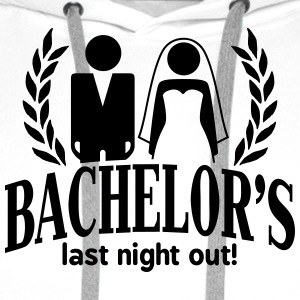 bachelor's last night out T-Shirts - Men's Premium Hoodie