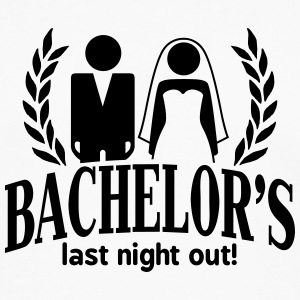 bachelor's last night out T-Shirts - Men's Premium Longsleeve Shirt