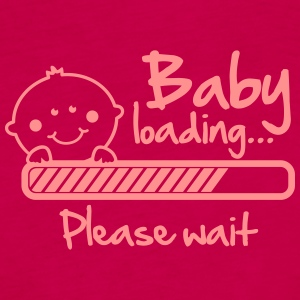 Baby loading - please wait T-Shirts - Women's Premium Tank Top