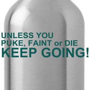 Keep Going T-Shirts - Water Bottle
