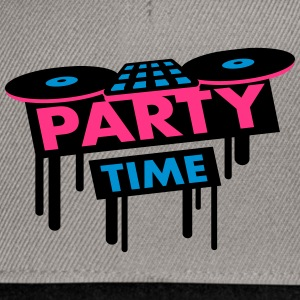 Party Time DJ Pult T-shirts - Snapbackkeps