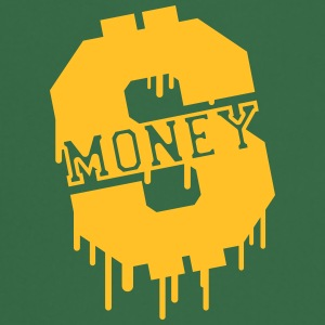 Money Graffiti Camisetas - Delantal de cocina