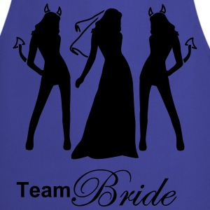 team bride T-shirts - Förkläde