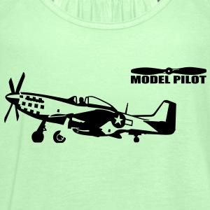 model pilot T-Shirts - Frauen Tank Top von Bella