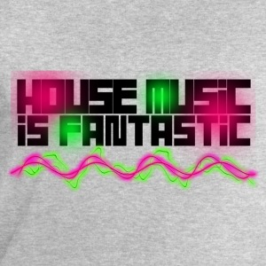 HOUSE MUSIC IS FANTASTIC - Sweat-shirt Homme Stanley & Stella