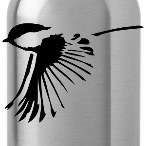 Small bird in flight - Water Bottle