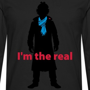 Sherlock: I'm the real 2 T-Shirts - Men's Premium Longsleeve Shirt