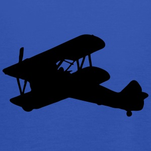 Biplane silhouette - Women's Tank Top by Bella