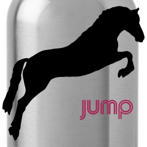 Jumping Horse T-Shirt - Water Bottle