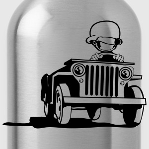 jeep T-Shirts - Water Bottle