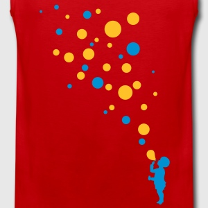 Love color bubbles Tee shirts - Débardeur Premium Homme