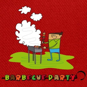 barbecue_party_2 Tee shirts - Casquette snapback