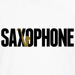 saxophone Tee shirts - T-shirt manches longues Premium Homme