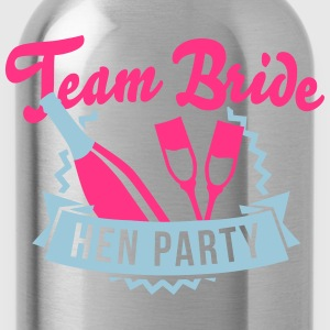 Team Bride - Hen Party T-Shirts - Water Bottle