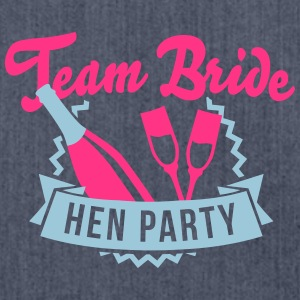 Team Bride - Hen Party T-Shirts - Shoulder Bag made from recycled material