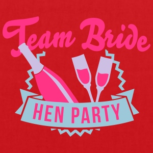 Team Bride - Hen Party T-Shirts - Stoffbeutel
