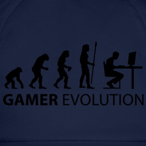 evolution_born_gamer T-shirts - Basebollkeps