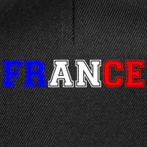 France tricolore Heavy Tee shirts - Casquette snapback