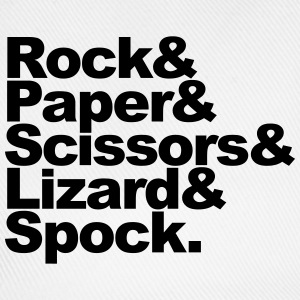 Rock Paper Scissors Lizard Spock T-shirts - Baseballcap