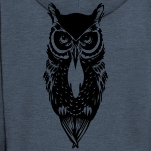 Kelly green Owl T-Shirts - Men's Premium Hooded Jacket