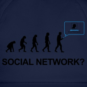 Darwin Evolution of social network - Baseball Cap