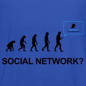 Darwin Evolution of social network - Women's Tank Top by Bella