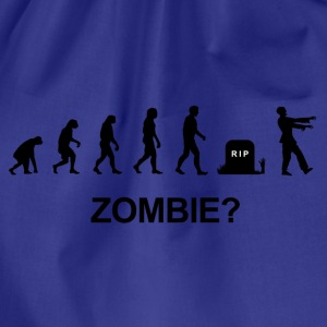 Darwin Evolution and zombie - Gymbag