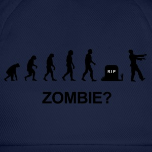 Darwin Evolution and zombie - Baseball Cap