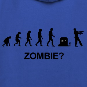 Darwin Evolution and zombie - Premium Barne-hettegenser