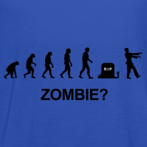 Darwin Evolution and zombie - Women's Tank Top by Bella